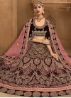 Trendy A Line Lehenga Choli For Bridal - 1