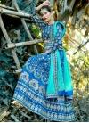 Silk Beads Work A Line Lehenga Choli - 1