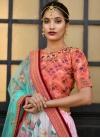 Art Silk A Line Lehenga Choli For Party - 2