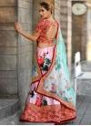 Art Silk A Line Lehenga Choli For Party - 1