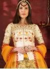 Silk Embroidered Work Designer Long Choli Lehenga - 2
