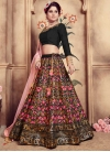 Cutdana Work Silk Trendy Lehenga Choli - 1