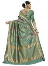 Thread Work Designer Traditional Saree - 2