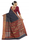 Banarasi Silk Contemporary Style Saree - 1