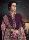 Resham Work Pant Style Pakistani Salwar Kameez - 1