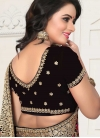 Embroidered Work Traditional Designer Saree - 2