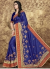 Art Silk Embroidered Work Classic Saree - 1