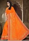 Embroidered Work Designer Contemporary Style Saree - 1