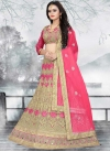 Embroidered Work A - Line Lehenga - 1