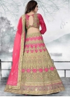 Embroidered Work A - Line Lehenga - 2