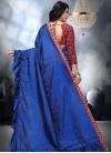 Art Silk Trendy Designer Saree - 2