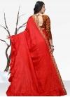 Designer Contemporary Style Saree For Festival - 2