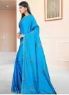 Art Silk Lace Work Trendy Classic Saree - 1