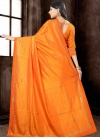 Lace Work Contemporary Style Saree - 2