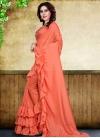 Digital Print Work Art Silk Trendy Designer Saree - 1