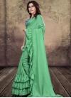 Digital Print Work Art Silk Traditional Designer Saree - 1