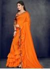 Art Silk Designer Contemporary Saree For Ceremonial - 1