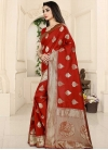 Thread Work Traditional Saree - 1