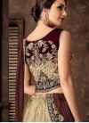 Jacquard Silk Designer Lehenga Saree - 2