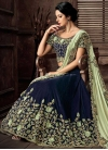 Beads Work Designer Lehenga Saree - 1