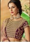 Tafeta Silk A Line Lehenga Choli For Bridal - 1