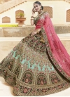 Art Silk Trendy A Line Lehenga Choli - 1