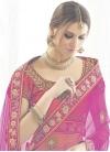Staggering Rose Pink and Tomato Silk Designer Long Choli Lehenga - 2
