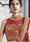 Gilded Crystal Work Designer Classic Lehenga Choli For Bridal - 2