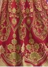 Gilded Crystal Work Designer Classic Lehenga Choli For Bridal - 1