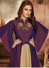 Tafeta Silk Readymade Layered Gown - 1
