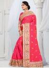 Embroidered Work Designer Traditional Saree - 1