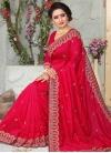 Art Silk Trendy Saree For Festival - 1