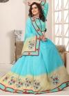 Cotton Silk Designer Traditional Saree For Festival - 1