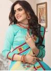 Cotton Silk Designer Traditional Saree For Festival - 2