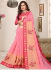 Cotton Silk Trendy Classic Saree For Festival - 1