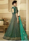 Art Silk Long Length Designer Anarkali Suit For Festival - 2