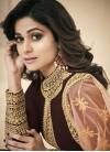 Shamita Shetty Embroidered Work Floor Length Anarkali Suit - 1
