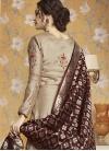 Satin Silk Readymade Long Length Gown For Festival - 2