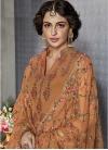 Embroidered Work Sharara Salwar Kameez - 1