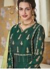 Satin Silk Readymade Floor Length Gown - 1
