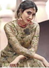 Embroidered Work Floor Length Anarkali Suit For Festival - 2