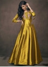 Embroidered Work Readymade Classic Gown - 1