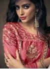 Satin Silk Embroidered Work Readymade Designer Gown - 1