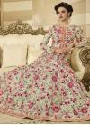 Floor Length Anarkali Salwar Suit For Festival - 1