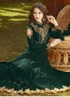 Embroidered Work Trendy Anarkali Salwar Kameez - 1