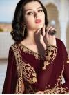 Faux Georgette Trendy Anarkali Salwar Kameez - 2