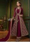 Faux Georgette Embroidered Work Designer Palazzo Salwar Kameez - 2