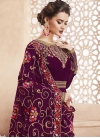 Embroidered Work Trendy Anarkali Salwar Kameez - 1