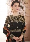 Faux Georgette Long Length Designer Anarkali Suit - 1