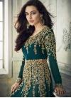 Embroidered Work Faux Georgette Long Length Salwar Kameez - 2